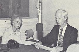 Svisa Radio Internacia, Esperanto-fako, Berno. Heidi kaj Arthur Baur, 1982